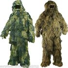 MENS GHILLIE SUIT JACKET TROUSERS HAT RIFLE WRAP CAMOFLAUGE HUNTING SNIPER