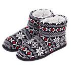 totes Mens Fairisle Bootie Slippers
