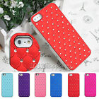 Luxury Diamond Crystal Bling Rhinestone Hard Case Cover Skin For iPhone 6 4.7""