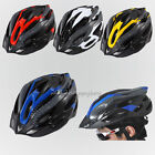 Outdoor Sports Bicycle Cycling Adult Safety Helmet Carbon 4 Colour With Visor