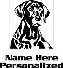 Customized Labrador Retriever Decal Labrador Decal Lab Pet stickers 3536P