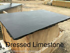 Decorative Natural Black Limestone Hearth FREE DELIVERY to most parts of UK