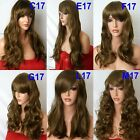 MOUSE BROWN Curly Layered Full Wig Ladies Fashion Fancy dress wigs #12