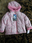 NWT ZeroXposur Sherpa Lined Leopard Transitional Jacket Toddler Girl SIZE: 4T