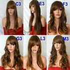 OMBRE Curly Layered Full Wig Ladies Fashion Fancy dress wigs #2T30