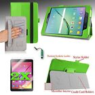 """For Samsung Galaxy Tab S2 8.0"""" Slim Fit PU Leather Case Cover Stand +Accessories"""