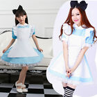 Parent-child Cosplay Alice in Wonderland Lolita Maid Outfit Party Fancy Dress