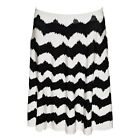INC International Concepts Women's Plus Size Striped A-Line Sweater Skirt NEW