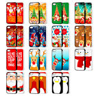 CHRITMAS XMAS SNOWMAN SANTA PHONE CASE COVER FOR iPHONE 4 4s 5 5S 5C 6 6 Plus FP