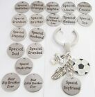 Football -KEYRING, Wedding favours ,Birthday gift, Christmas,Dad,Grandad,Brother