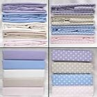 Regal Flannelette Sheets Duvet Cover Or Sheet Set 100% Brushed Cotton Bedding