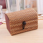 1pc New Ring/Necklace/Earrings Display Bamboo Wooden Case & Jewelry Storage Box