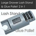 Lash Stand Glue Pallet Drawer for Eyelash Extension Curved Large
