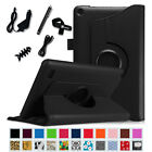 "7in1 Bundle Rotating Stand Case Cover for Amazon Fire 7"" (5th Gen, 2015 Model)"