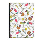 Cocktail Glasses Martini Party Fun Universal Tablet 7* Leather Flip Case Cover