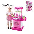 Xiongcheng Pink Kitchen Safe Plastic Children's Kids Own Role Play Portable Toy