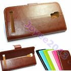 "PU Leather Flip Wallte Case Cover For 6"" 5.5"" 5"" DEXP Smartphone /u choose model"