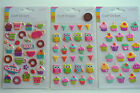 Craft Stickers/embellishments 3-D Tea Party Stickers - Cute