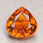 Natural Unheated Gem Top AAA Orange Mandarin Spessartite Garnet 1.25CT Flawless