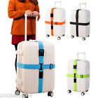 Adjustable Suitcase Combination Luggage strap Travel Baggage Tie Down Belt Lock