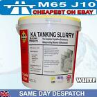 bulk 10x KA Tanking Slurry Grey or White 25kg Bucket Water proofer damp proofing