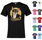 Graphic tee Chihuahua Dog Funny Pet Animal T-shirt Adult a16