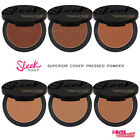Sleek Makeup Smooth, Matte Finish Pressed Powder for Superior Cover