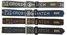 Crosshatch Mens Pelt Particle New Perforated PU Leather Single Pin Metal Buckle