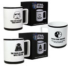 Star Wars Imperial Mug New Stormtrooper Darth Vader Gift Box Tea Coffee Brew Cup