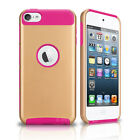 PC Dirt Dust Shockproof Rubber Matte Hard Case Cover For iPod Touch 6th 5th Gen