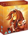 THE LION KING TRILOGY 1-3 [Blu-ray Box Set] All Movies 1 2 3 Disney Collection