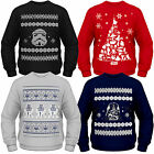 Star Wars Christmas Jumper Adults Official Licensed Disney Festive Sweater Top