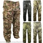 US ARMY STYLE RIPSTOP TROUSERS ACU LIGHTWEIGHT WORKWEAR PAINTBALLING AIRSOFT