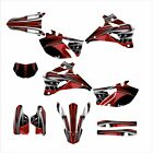 2007 2008 2009 2010 2011 2012 2013 2014 WR 250F Graphics Decal kit #4444 Red