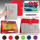 "Folio Leather Case Cover Wake/Sleep for Samsung Galaxy Tab Pro 10.1"" Inch Tablet"