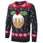 Unisex Christmas Jumper Conspiracy New Xmas Pudding Mens Womens Ladies Gift Top