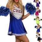 New Lovely High School Musical Cheerleader Girl Uniform Costume Size XS-XL