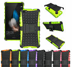 Huawei P8 Lite Heavy Duty ShockProof Rugged Kickstand Case Cover ScreenProtector