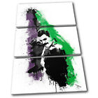 Freddie Mercury Abstract Musical TREBLE CANVAS WALL ART Picture Print VA