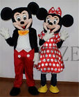 Adult Suit Size MICKEY MOUSE & MINNIE MOUSE mascot costume