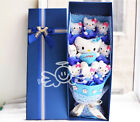 Cartoon Cat Festivals Gift Bouquet For Valentine's Day /Christmas Gift W/Box New