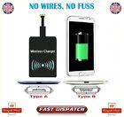 Universal Qi Wireless Charging Receiver for All Micro-USB Android Mobile UK