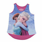 Disney Frozen Anna and Elsa Warm Hugs Girls Tank Top Shirt