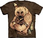 Tribal Bear Animals T Shirt Adult Unisex The Mountain