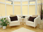 PERFECT FIT PLEATED CONSERVATORY WINDOW BLINDS (CLIP IN FRAMES / NO DRILLING)