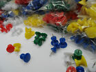 Giant Jumbo Push Pins Single Coloured Packs for Craft Office & Notice Boards