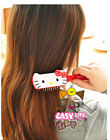 Cute Mini Pink Red Comb Light handle Salon Hair style Cute massage Paddle brush