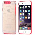 LED Flash Incoming Call Lighting Armor Clear Cove Cases For iPhone 6 6S 5 5S