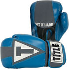 Title Gel Aerovent Washable Fitness Boxing Gloves - Blue Gray
