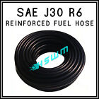 Rubber Reinforced Fuel Hose Cotton Braided Petrol Oil Diesel Pipe Tube SAE J30R6